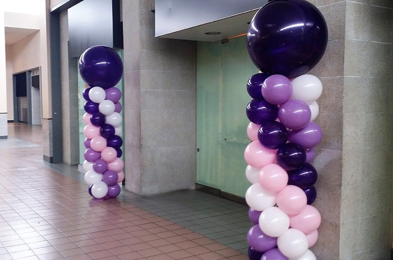 Balloon-column-hire-birmingham